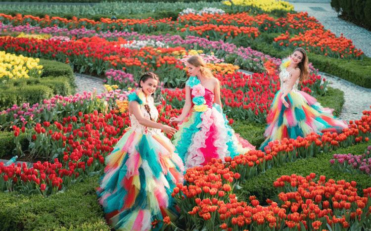 Viet Fun Travel Chiêm ngưỡng vườn hoa Le Jardin D'amour