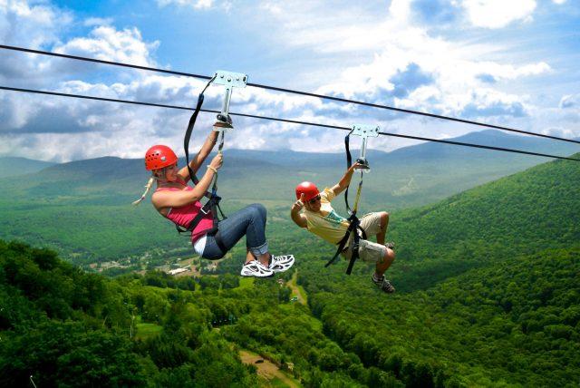Zipline – Trượt dây cáp Hòa Phú Thành