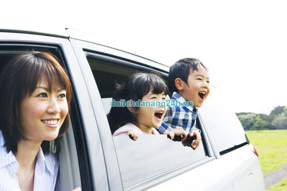 Sử dụng phương tiện gì khi đi du lịch cùng gia đình?