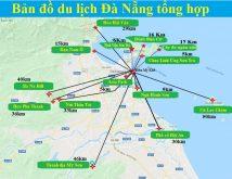 Tổng hợp bản đồ du lịch Đà Nẵng cụ thể nhất – mới nhất 2020