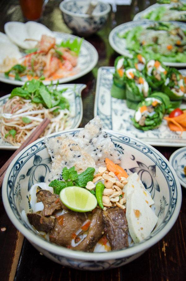 quán ăn chay ngon ở Huế